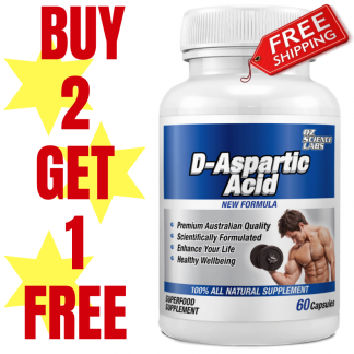 D Aspartic Acid Buy 2 Get 1 FREE !