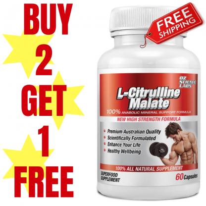 L - Citrulline Buy 2 Get 1 FREE !