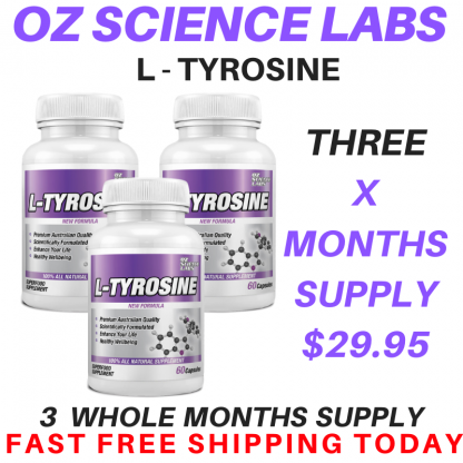 L - Tyrosine 3 Bottle Buy