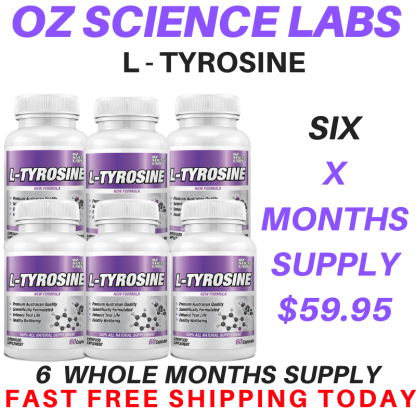 L - Tyrosine 6 Bottle Buy