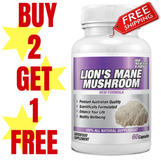 Lions Mane Mushroom Buy 2 Get 1 Free !
